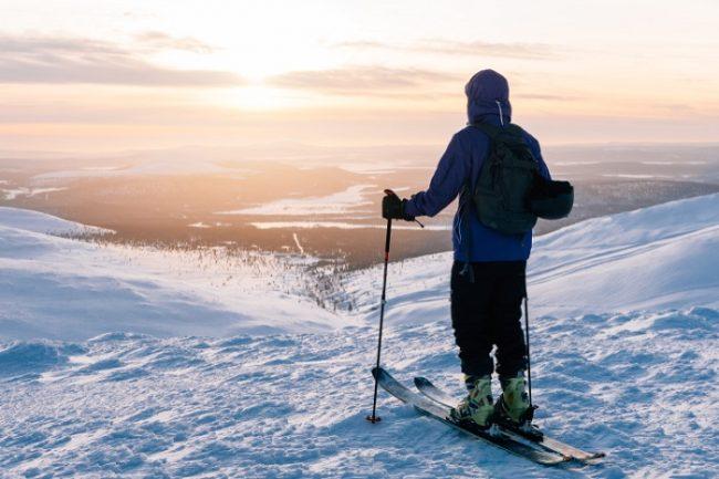 Espectaculares vistas desde la estación de esquí de Pallas