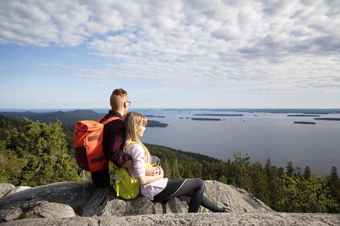 El Parque Nacional de Koli en Finlandia