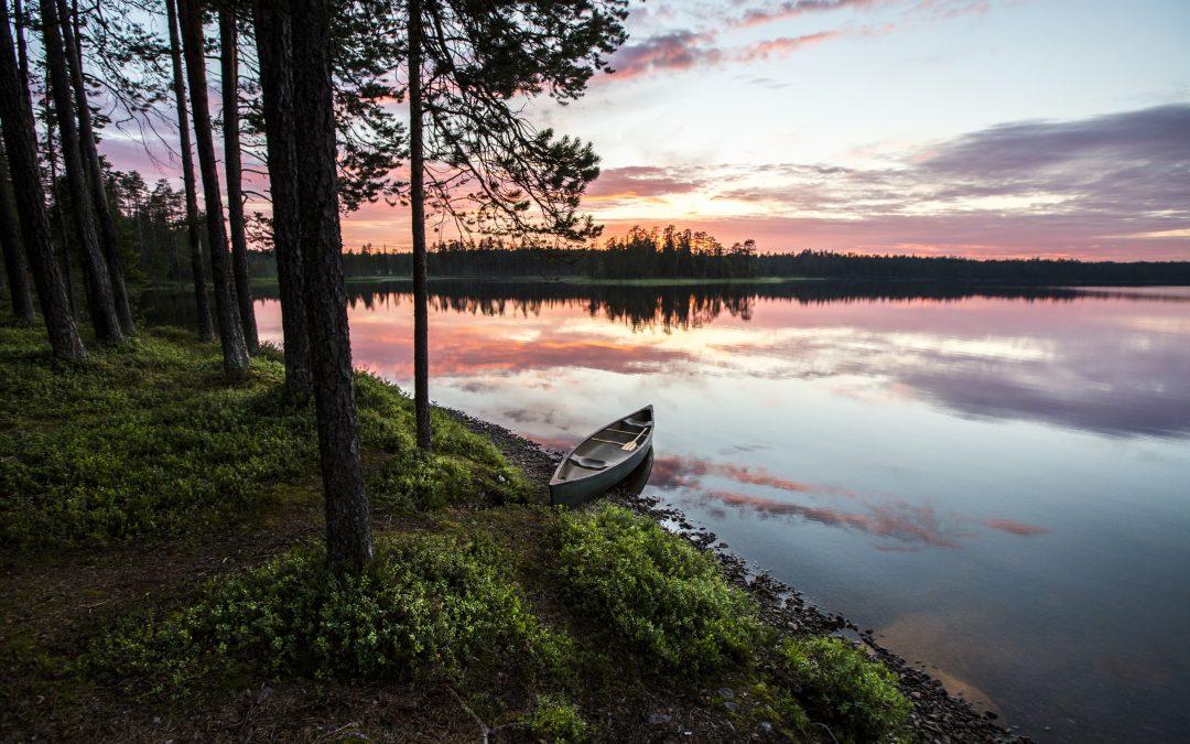 Ruta de Parques Nacionales cerca de Kuusamo