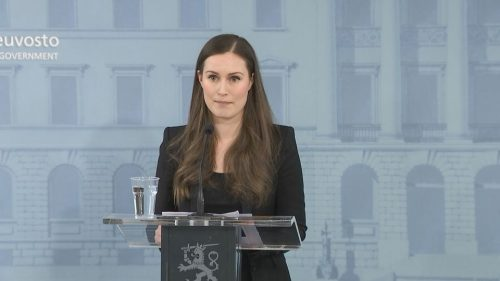Sanna Marin, primera ministra finlandesa