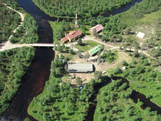 Vista aérea de Kemihaara Loma