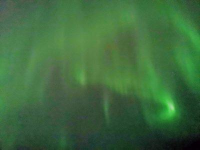 Aurora Boreal en Rovaniemi (Fuente: Carlos gomez)