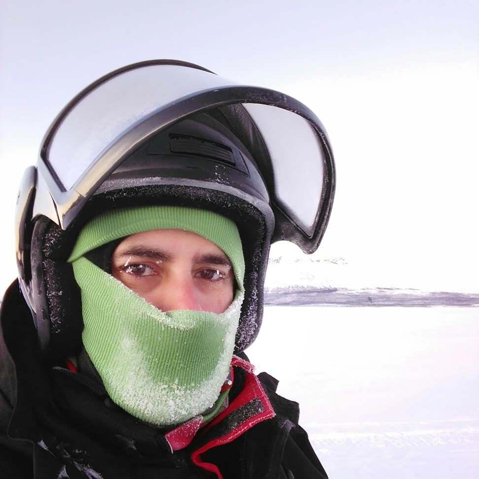 Jordi Rivera en Laponia