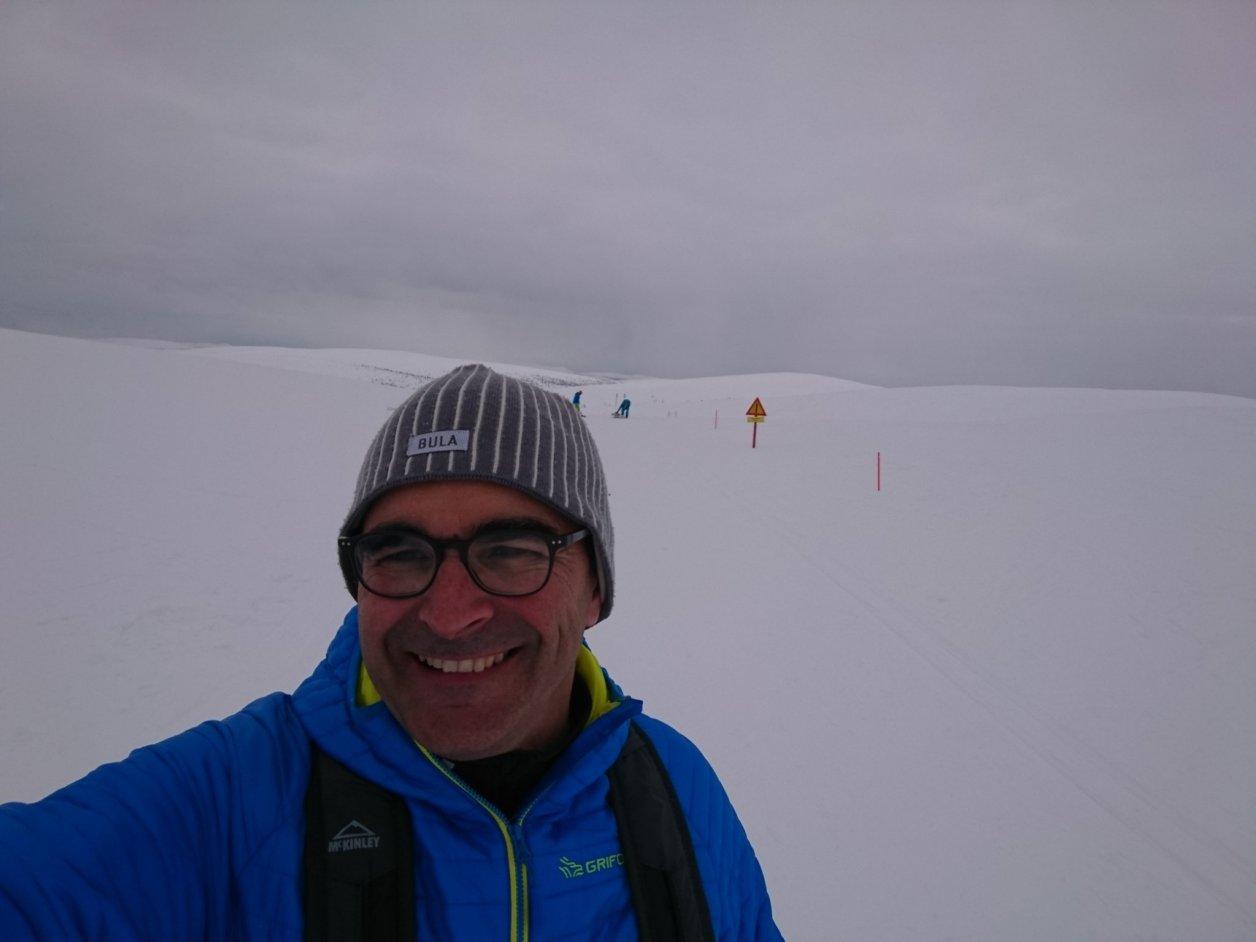 Ignasi Canals en Laponia