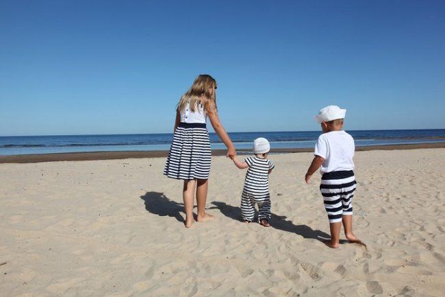 En Kokkola las playas son de arena fina