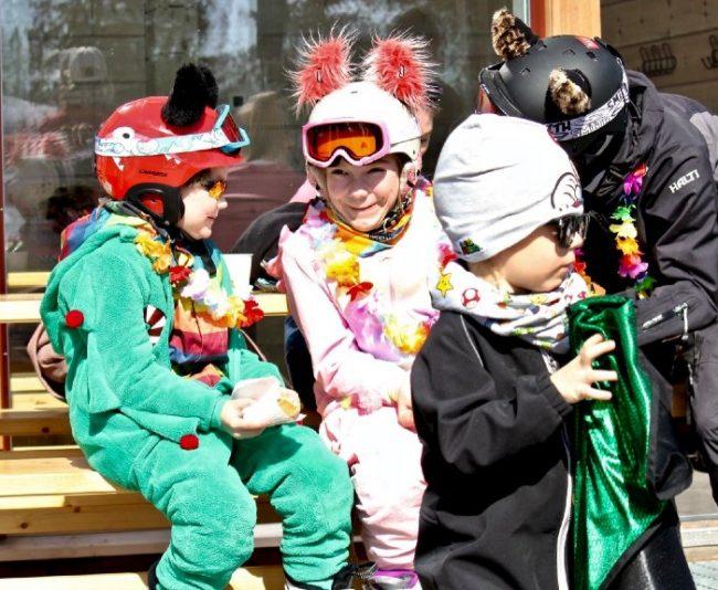 Los pequeños de la casa tienen diversión segura en la estación de esquí de Ruka