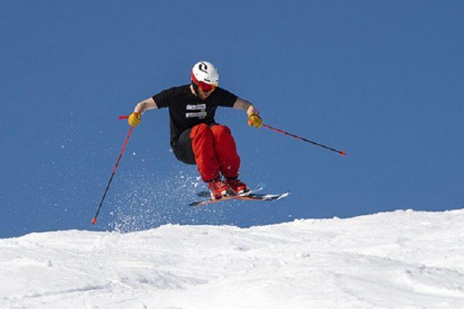 Buenas condiciones en primavera en la estación de esquí de Pyhä en Laponia