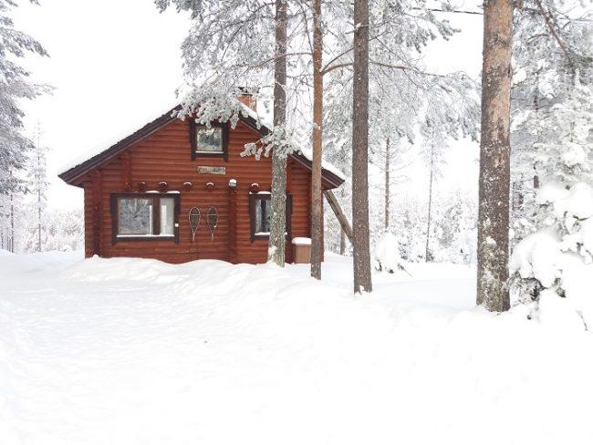 Cabaña de alquiler cerca de la ciudad de Kuusamo