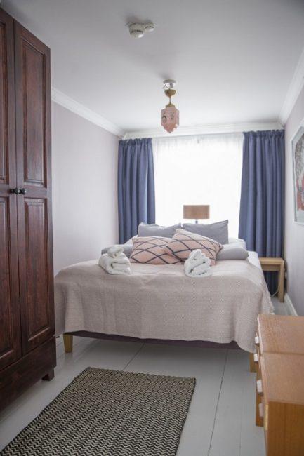 Detalle de una de las habitaciones de la Villa Keisarinna del Hotel Punkaharju