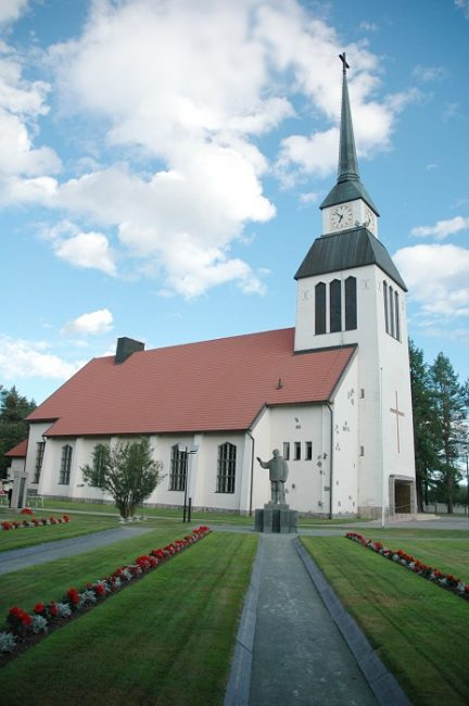 La iglesia de Kuusamo