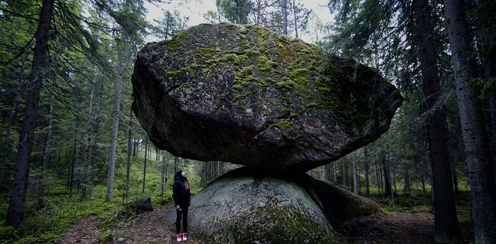 Lugares naturales de interés en Finlandia