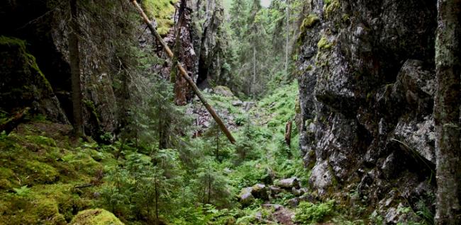 La Tumba del Diablo-Hitonhauta en Finlandia