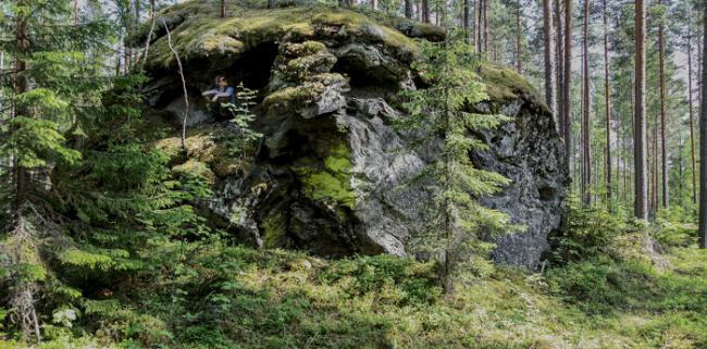 Las Rocas del Diablo en Finlandia