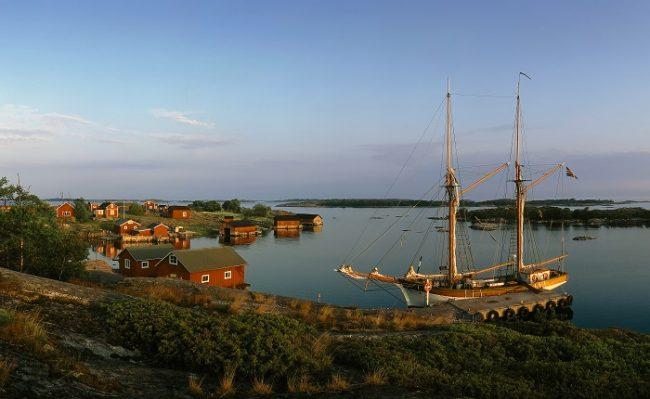 Atardecer en uno de los cientos de rincones que hay en las islas Åland
