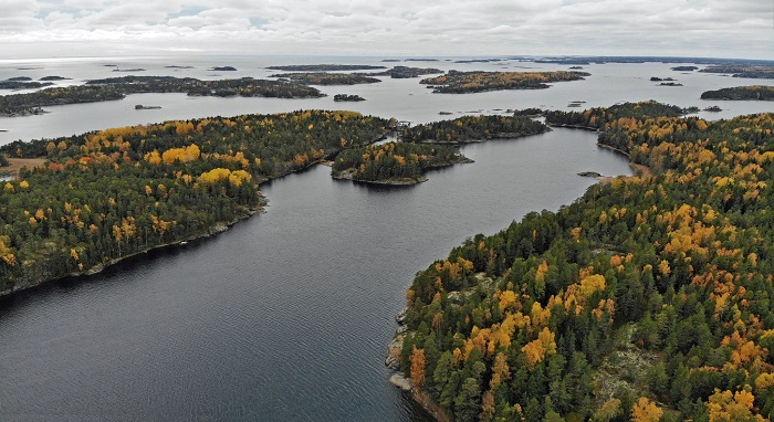 El Parque Nacional del Archipiélago de Ekenäs en Finlandia