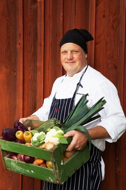 El chef Micke Björklund es un referente en la gastronomía de las islas Åland