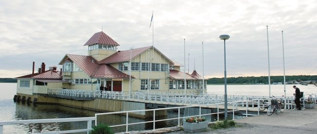 El famoso restaurante Knipan en Ekenäs Tammisaari fundado en el año 1908