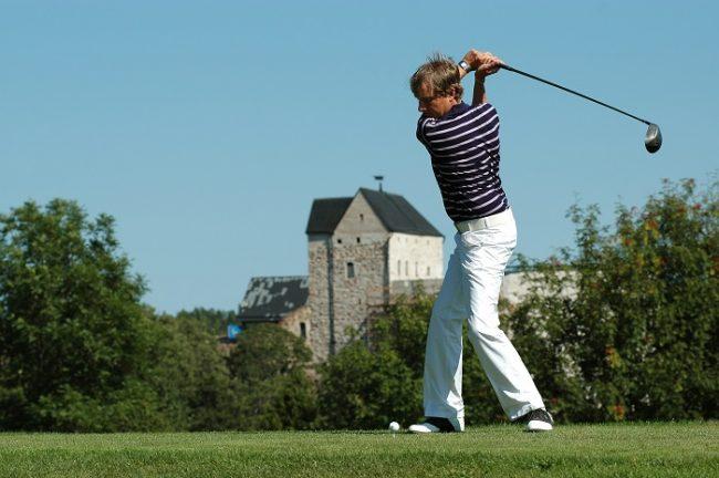 El golf atrae a muchos aficionados a las islas Åland