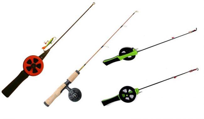 Tipos de cañas que se utilizan para pescar en el hielo