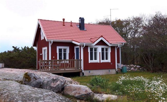 Una de las numerosas cabañas de alquiler en las islas Åland