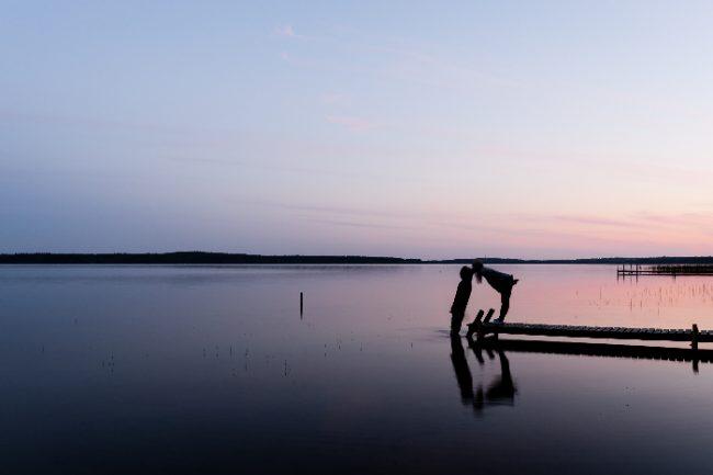 Verano en el lago Saimaa