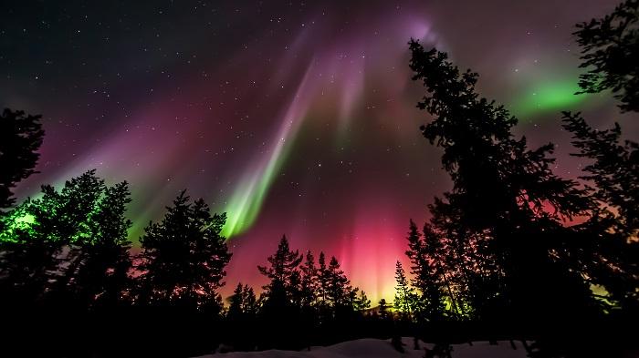 Actividades de invierno en Laponia